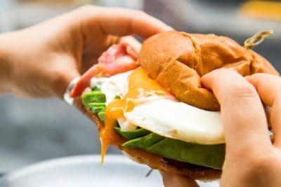ham and egg sandwhich